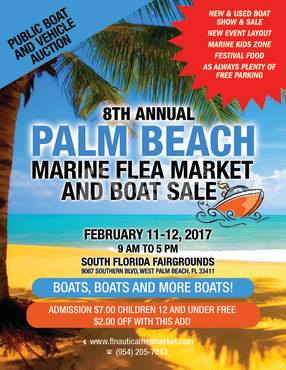 Palm Beach Marine Flea Market & Boat Sale – BOATS – Feb 12