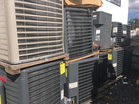 New Scratch & Dent AC Units – COMMERCIAL UNITS  |  Feb – 17