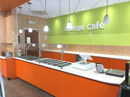 Orange Cafe – ICE CREAM PARLOR  |  Apr-20