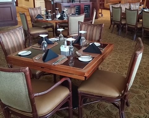 Boca Grove Clubhouse Pre-Renovation Auction -DINING ROOM-|  Wednesday, Jun-28