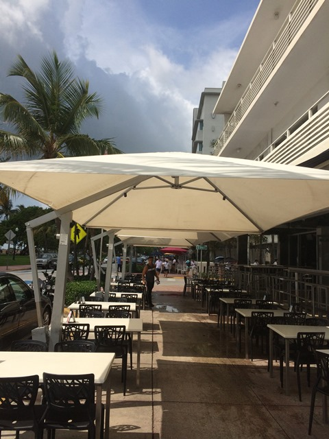 Famous Nightclub / Restaurant On South Beach – Seating Package, Shade System, And Awnings  |  Wednesday, Jul-05